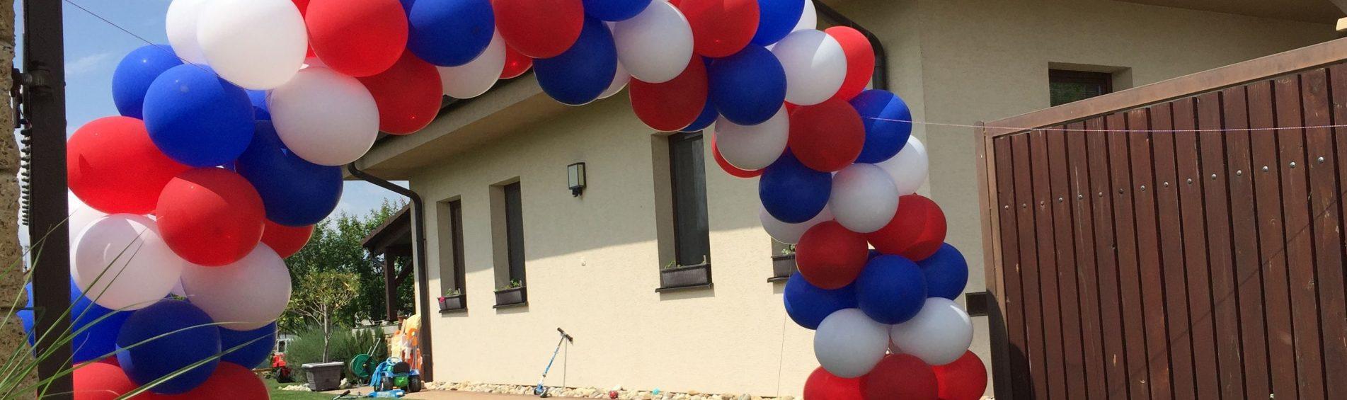 Balónové dekorácie